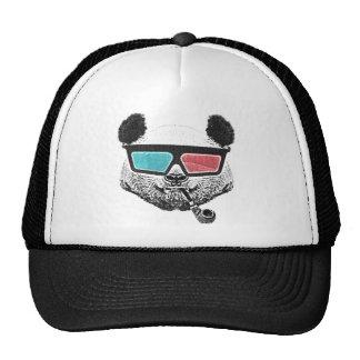 3-D Gläser des Vintagen Pandas Baseballmütze