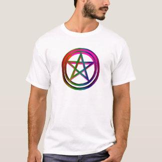 3-D Pentagramm T-Shirt