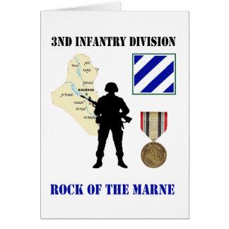 3. Der Infanteriedivision-Irak-Kriegs-Tierarzt Karte