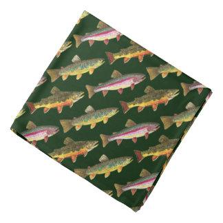 3 Forelle-Fliegen-Fischen - Fischer Kopftuch