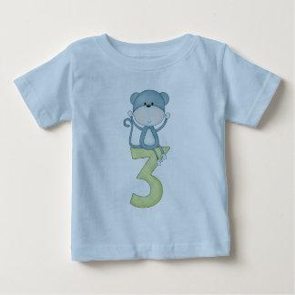 3. Geburtstags-Affe Baby T-shirt