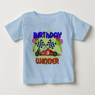 3. Geburtstags-Rennwagen-Geburtstag Baby T-shirt