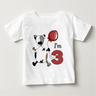 3. Geburtstags-Welpen-Geburtstag Baby T-shirt