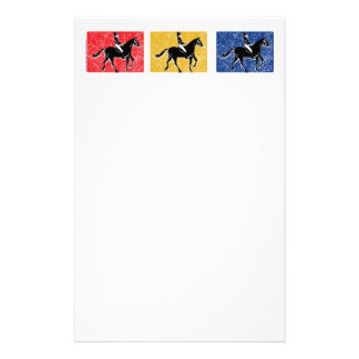 3-Horse-Riders Briefpapier