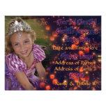 3-jährig-Prinzessin Birthday Invites mit Rückseite Einladungen