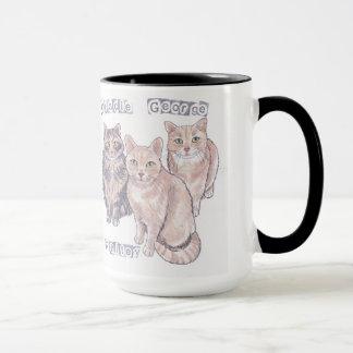 3 Kätzchen-Tasse Tasse