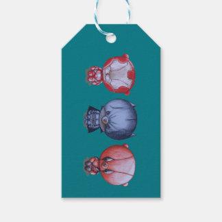 3 kleine Helder Geschenkanhänger