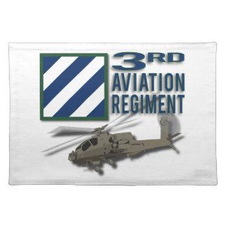 3. Luftfahrt-Regiment Apache Tischset