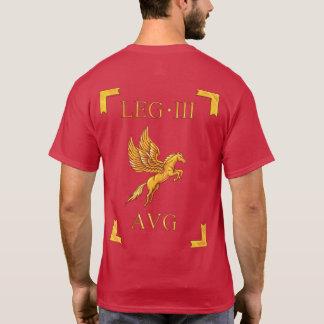 3 römischer Legio III Augusta Vexillum T - Shirt