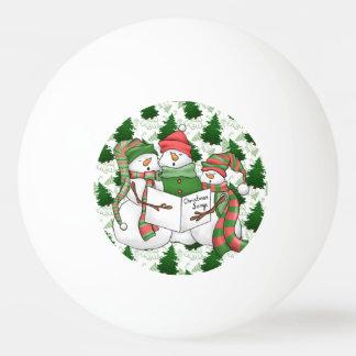 3 SchneemannCarolers Ping-Pong Ball