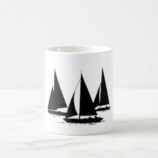 3 Segelboote Kaffeetasse