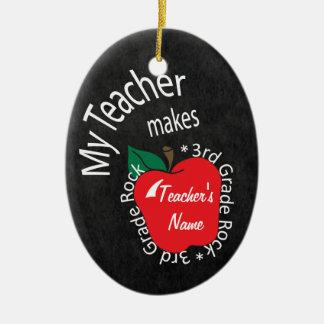 3. Tafel des Grad-Lehrer-| Keramik Ornament