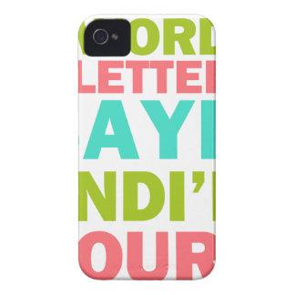 3 Wörter 8 Buchstaben sagen, dass es und ich Ihr Case-Mate iPhone 4 Hülle