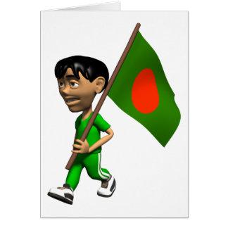 3D Bangladesch Karte