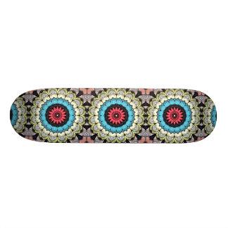 3D berechnet Mandala Skateboardbrett