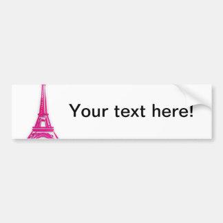 3d Eiffelturm, Frankreich clipart Autoaufkleber