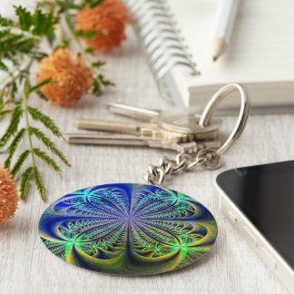 3D Fraktal Keychain Schlüsselanhänger