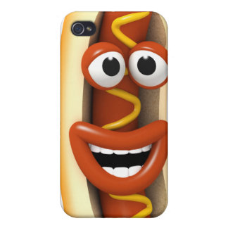 3d-hotdog-laugh iPhone 4/4S hüllen