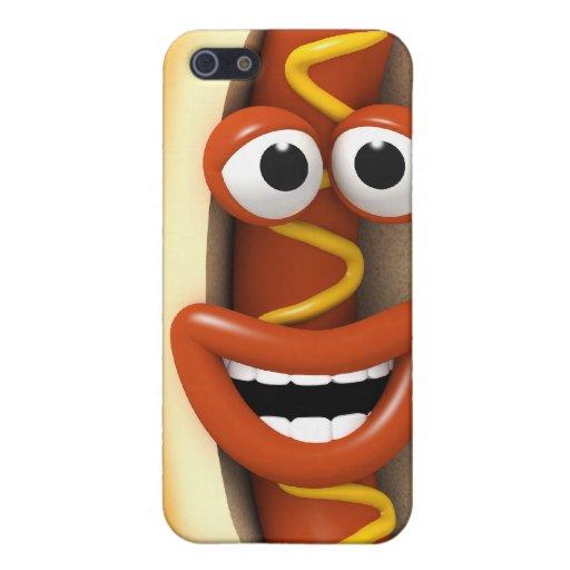 3d-hotdog-laugh etui fürs iPhone 5