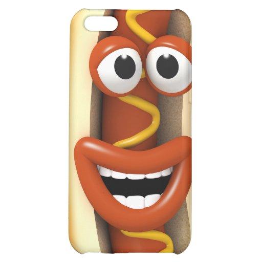 3d-hotdog-laugh hülle für iPhone 5C