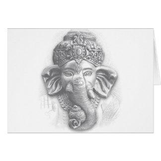 3d Lord Ganesha - OM Karte