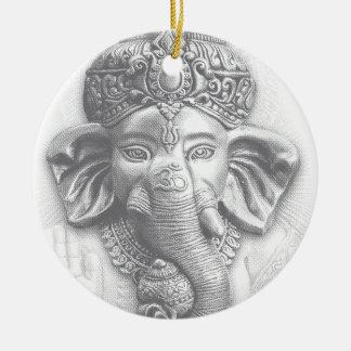 3d Lord Ganesha - OM Keramik Ornament