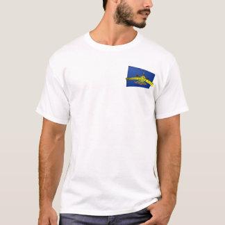 3D Pennsylvania Staats-Flagge T-Shirt