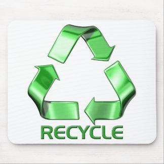 3d recyceln Grafik Mousepad