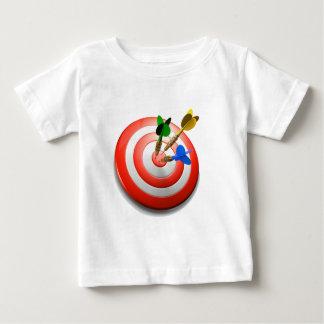 3D schießt Bullaugen-Baby-T-Shirt Baby T-shirt