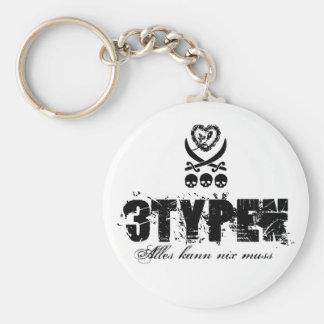 3K3y - 3typen K3ychain Schlüsselanhänger
