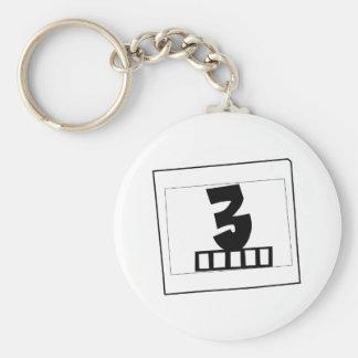 3k3y - 3typen Keychain [3] Standard Runder Schlüsselanhänger