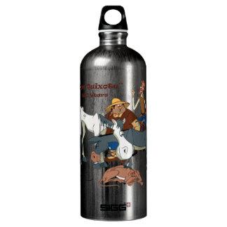 400 Jahre Don Quichote @QUIXOTEdotTV Aluminiumwasserflaschen