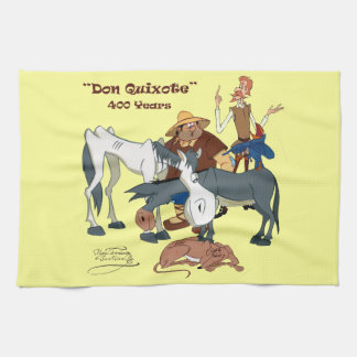 400 Jahre Don Quichote @QUIXOTEdotTV Handtücher