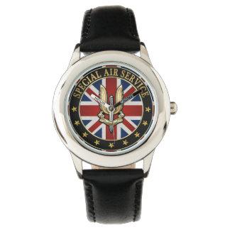 [400] Spezieller Fluglinienverkehr- (SAS)Abzeichen Armbanduhr