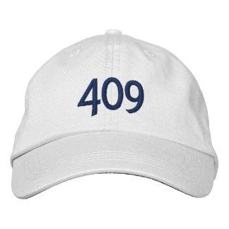 409 Gewinne Bestickte Baseballkappe