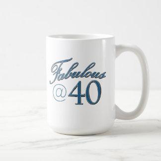 """""""40"""" """"40."""" """"40. desi Geburtstag """"des Kaffeetasse"""