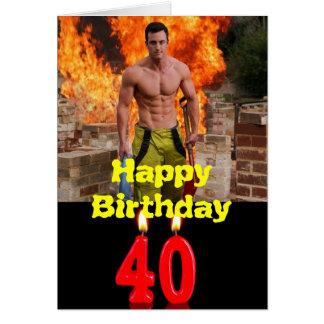40. Alles- Gute zum Geburtstagkarte Karte