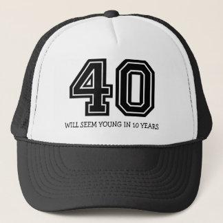 40. Geburtstag Truckerkappe