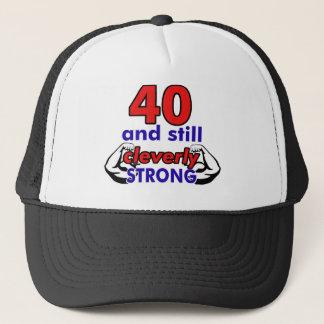 40-Geburtstags-Entwurf Truckerkappe