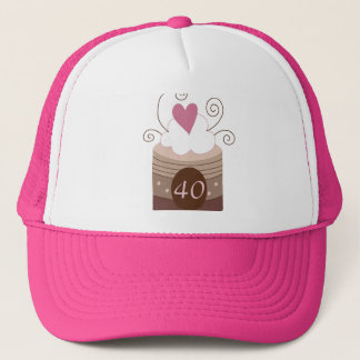 40. Geburtstags-Geschenk-Ideen für sie Truckerkappe