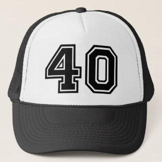 40. Geburtstags-Klassiker Truckerkappe