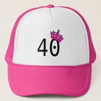 40. Geburtstags-Prinzessin Truckerkappe