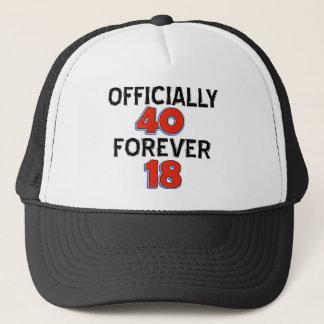 40. Geburtstagsentwürfe Truckerkappe