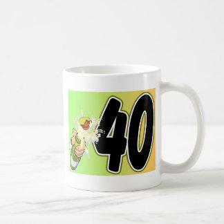 40. Geburtstagswaren Kaffeetasse