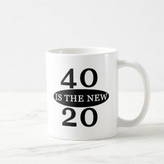 40 ist die neuen 20 kaffeetasse
