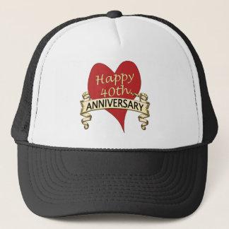 40. Jahrestag Truckerkappe