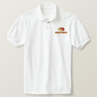 40-jähriges Jahrestags-Logo Besticktes Polo Shirt
