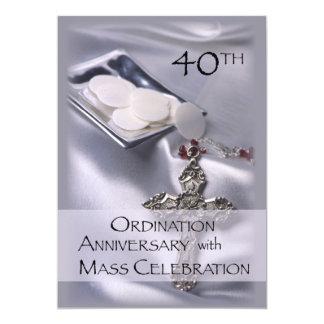 40. Klassifikations-Jahrestags-Einladung 12,7 X 17,8 Cm Einladungskarte