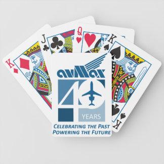 40. Logo-Kleidung Bicycle Spielkarten