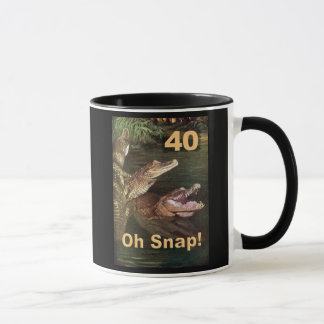 40, oh Verschluss Tasse